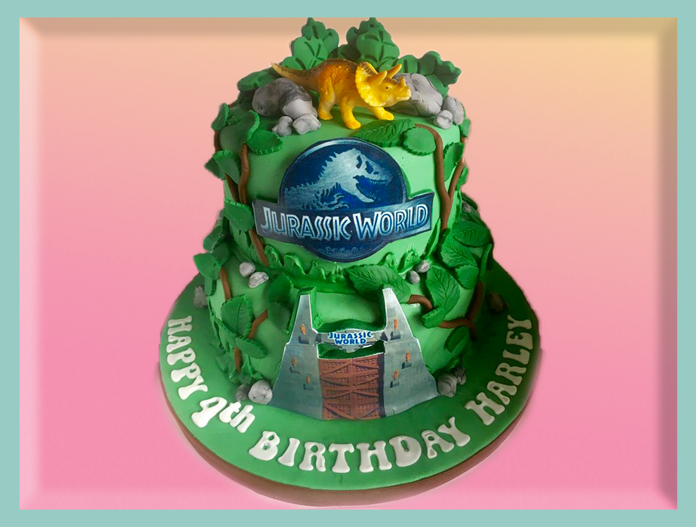 Derbyshire cakes jurassic birthday sciox Choice Image